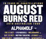 AUGUST BURNS RED x ALPHA WOLF x GRAVEMIND @ The Triffid, Brisbane