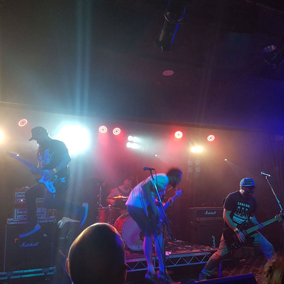Teenage Bottlerocket // GIG REPORT