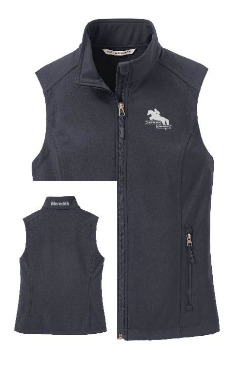Ladies Custom Soft Shell Vest