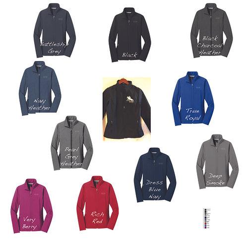 Custom Ladies Softshell Team Jacket