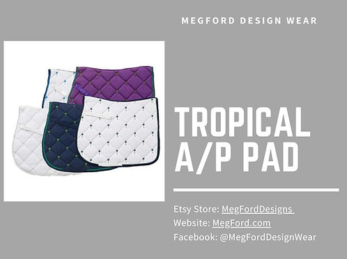 Tropical A/P Saddle Pad