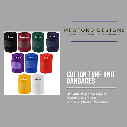 Cotton Turf Knit Bandages