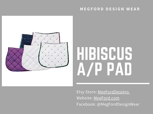 Hibiscus A/P Saddle Pad
