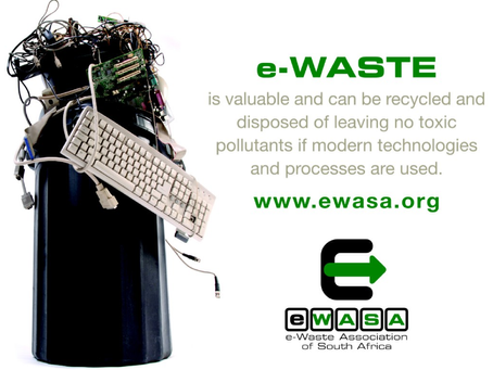 E-waste recycling sector still underdeveloped in South Africa