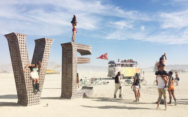 Love -Burning Man