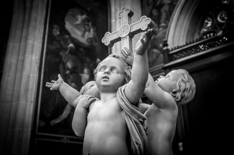 children - Sculpture, Paris