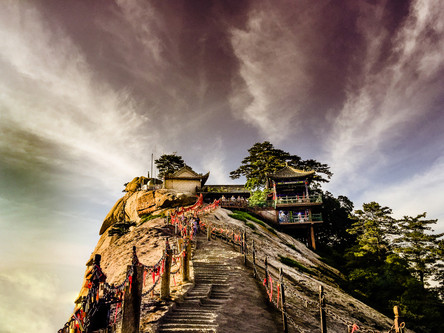 Sacred Mountain, Huashan - China