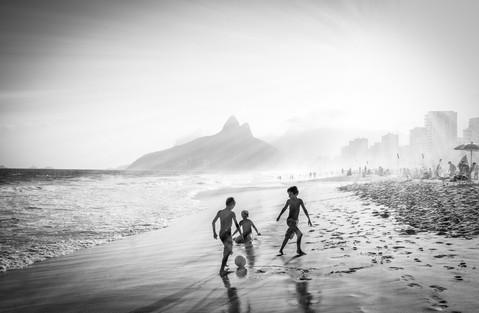 Children's game - Botafogo, Brazil