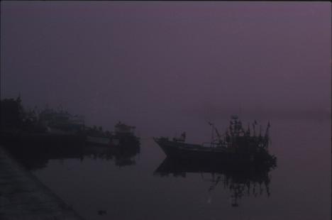 Foggy morning in Vila do Conde, September 2017