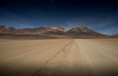 Uyuni road - Bolivia