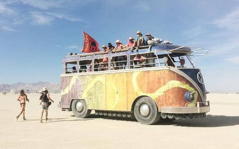 Art car - The Playa - Burning Man