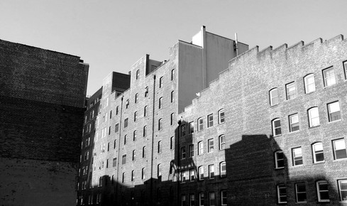 suburbs shadow - New york