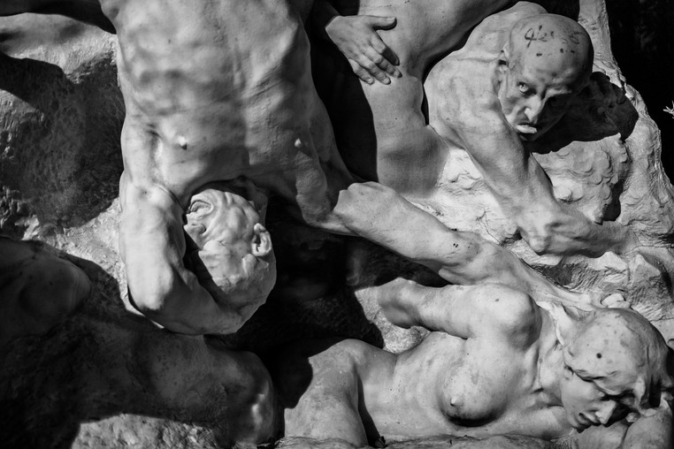 Body Maze II - Sculpture, Paris