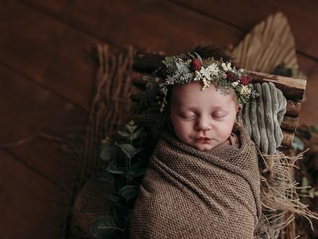 Newborn fotoshoot Meerle | België