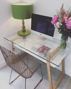 Loving my new chair from _rockettstgeorg