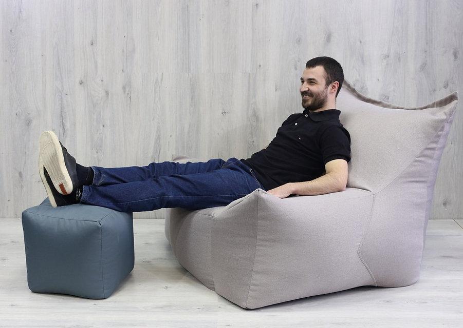 кресло мешок, бескаркасная мебель, кресло подушка, пуф, пуфик, крісло мішок