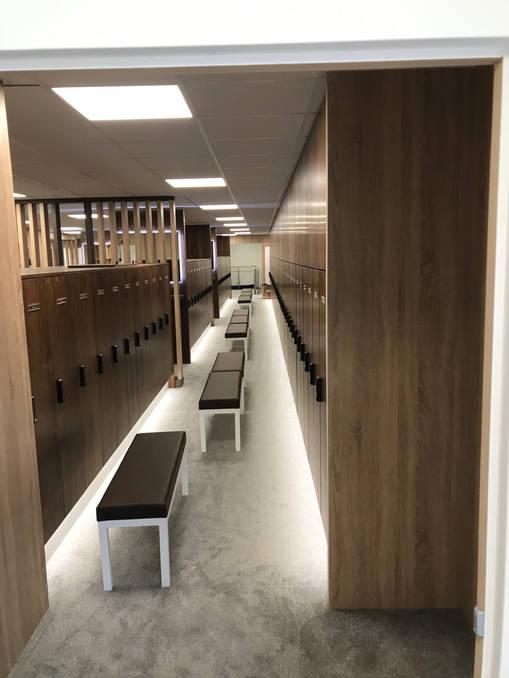 The Open_players locker room