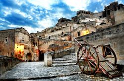 MATERA - SASSO BAREOSO - ITALIA