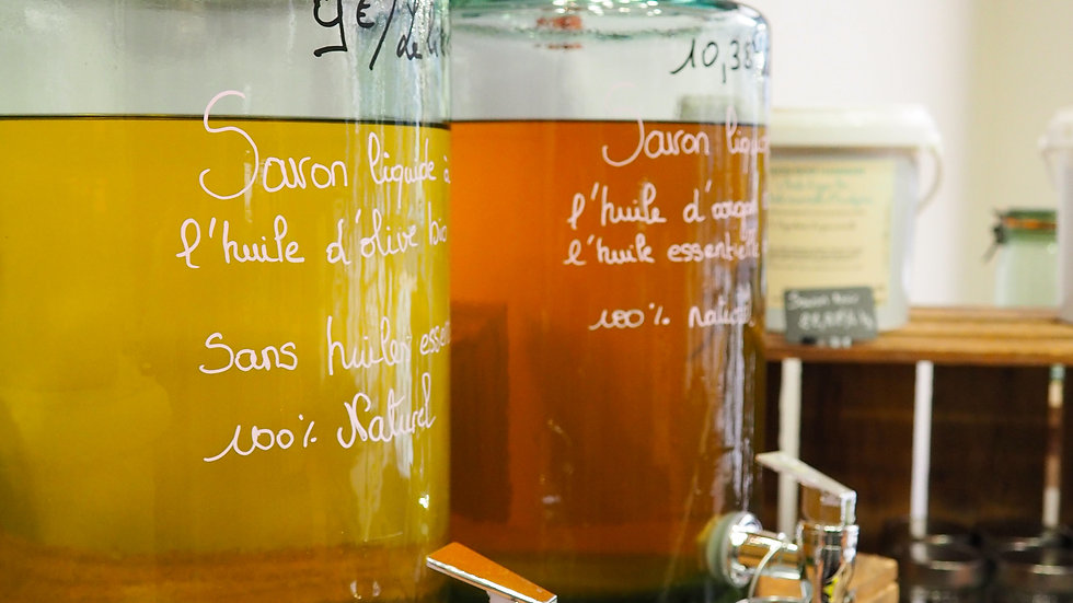 Savon liquide à huile d'olive