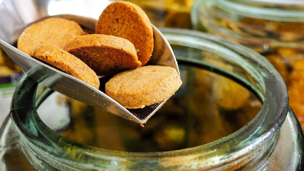 Biscuit DAO - Petit épeautre, amande, citron