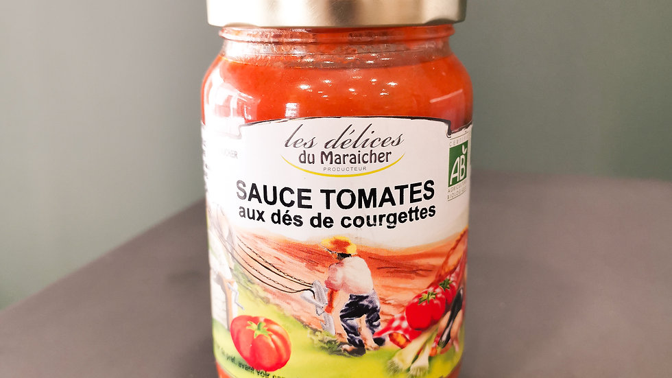 Sauce Tomate Courgettes - 320g