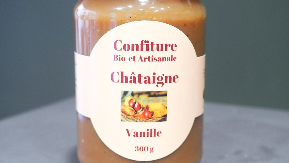 Confiture - Châtaigne Vanille