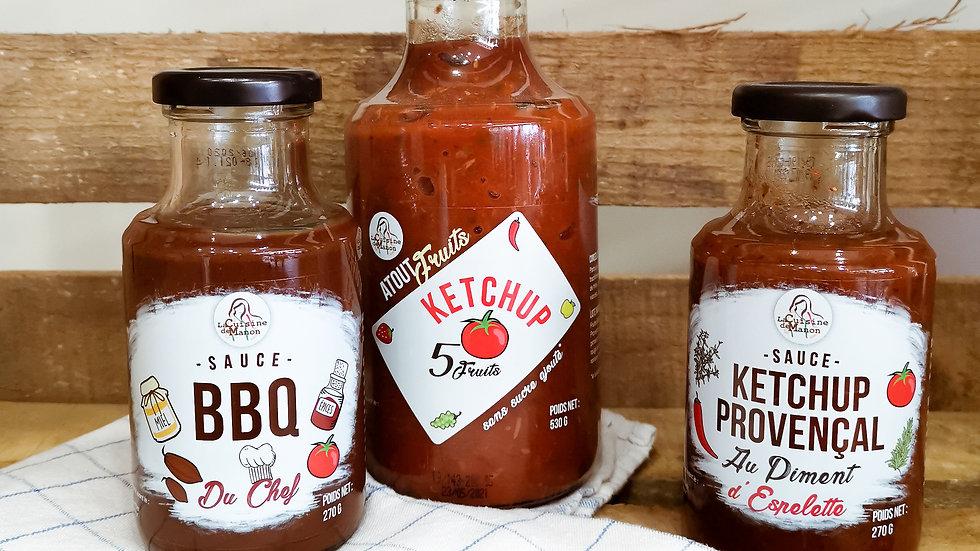 Ketchup provençal au piment d'espelette