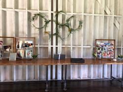 Gift Table Display