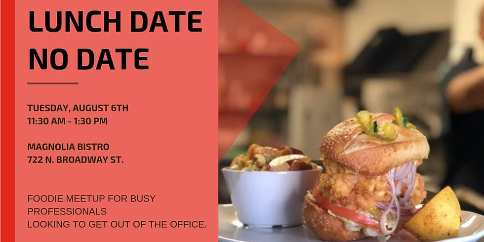 Lunch Date No Date: A Foodie Meetup