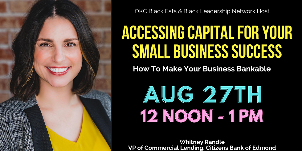 Accessing Capital For Your Small Business Success