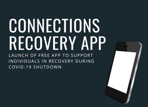 Free Smartphone App Offering Telehealth Support for those Struggling with Addiction During COVID-19