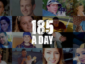 """""""185aDay"""" Campaign to Raise Awareness of Drug Overdose Deaths"""