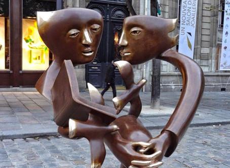 Городские жители из бронзы и камня