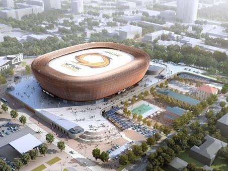 Объекты Универсиады-2023 строятся с применением передовых технологий