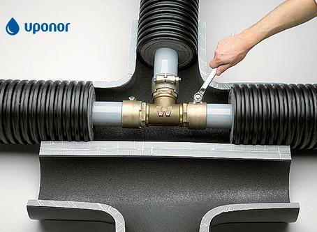 Uponor: послушные трубы для строительной отрасли