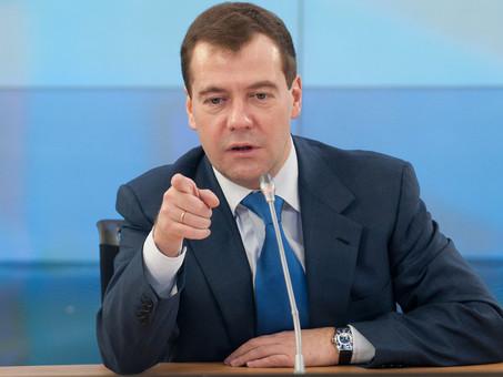 Медведеву не хватает счетов эскроу