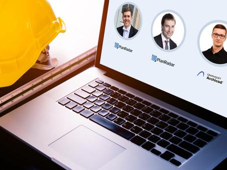 Вебинар Archicad & PlanRadar: Технология BIM от проекта до стройплощадки