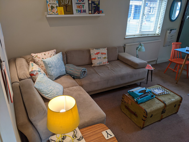 Flat Living area