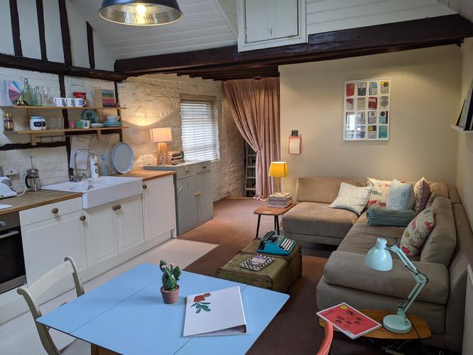 Flat Kitchen Livingroom