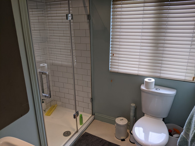 Flat Shower Room