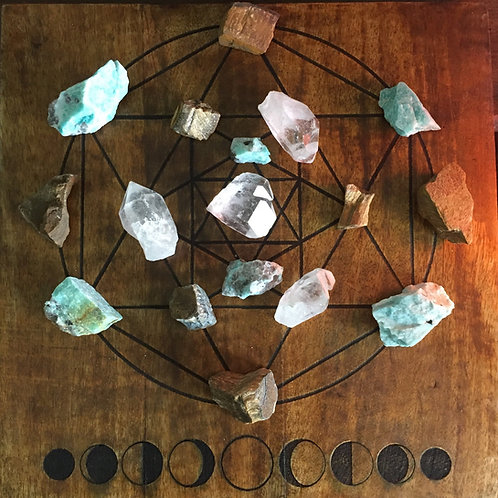 Crystal Grid and Distance Reiki Healing Sessions Plus 3 Crystals from Your Grid