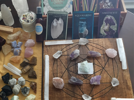 What's New in the Shop? Crystal Healing :)