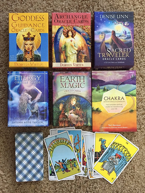 1 Question, 3 Cards, and a Psychic Message: Oracle or Tarot Spread