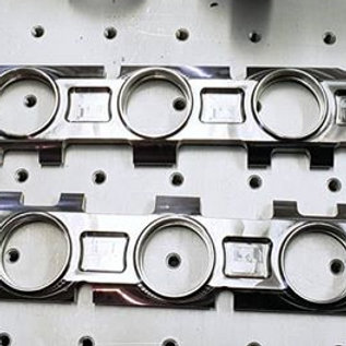 Stainless head flange 5 cylinder Audi TTRS RS3