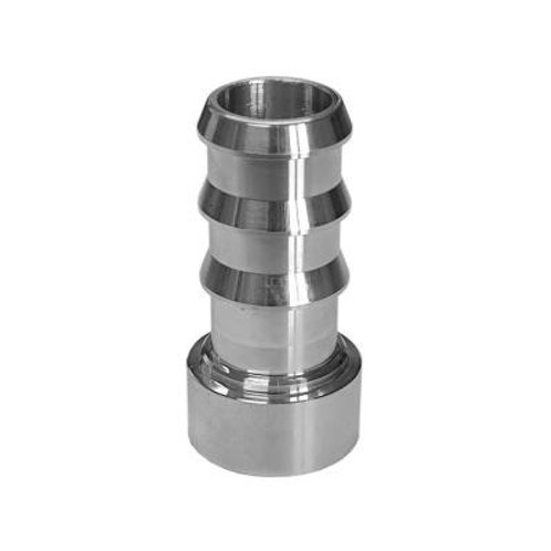 Aluminum barb weld fittings - Male