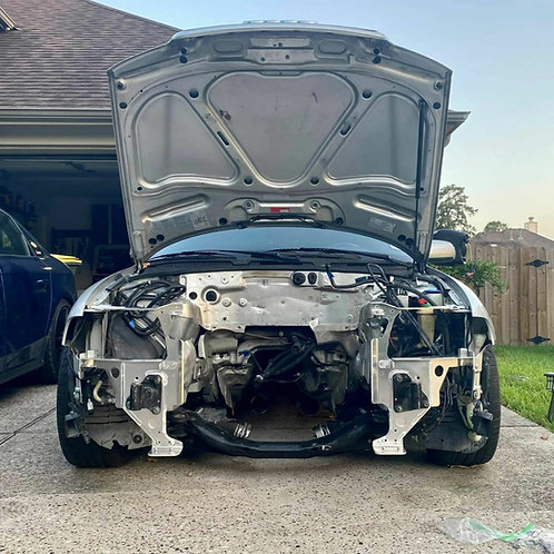 Audi A4 Aluminum Rad Support - Lite