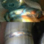 32 blue hybrid tungsten on 130 amps #8 c