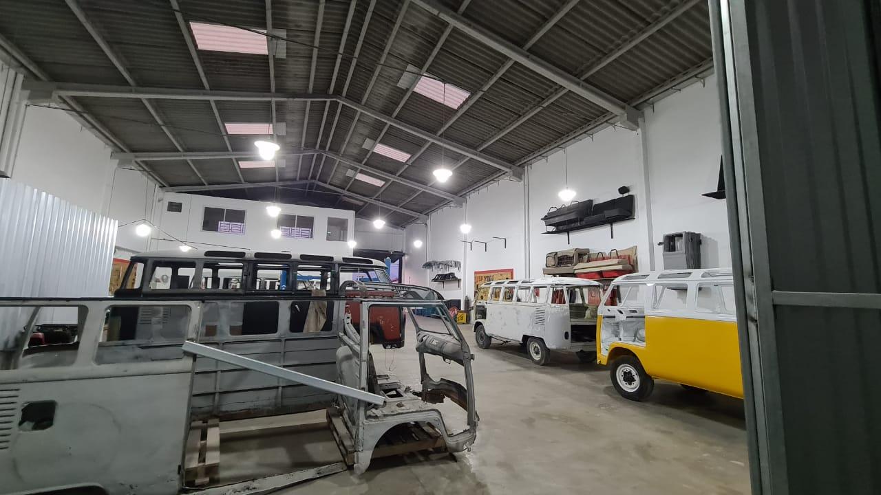 Bulli International Werkstatt