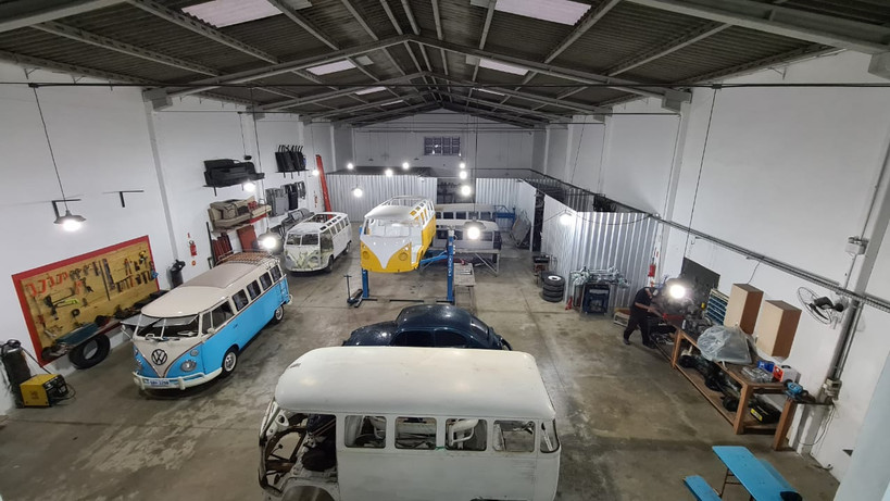 Restauration Werkstatt Bulli Internation