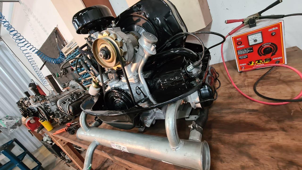 Motor luftgekühlt